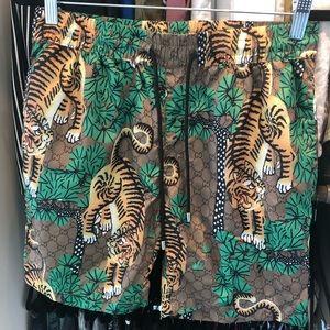 e1ecedc3588ad Swim   Mens Striped Printed Beach Shorts Trunks Xl   Poshmark